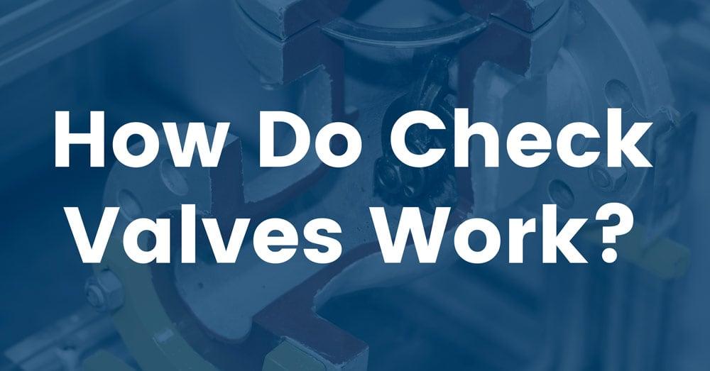 how-do-check-valves-work